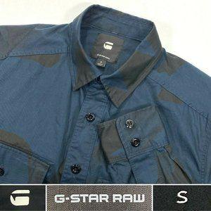 G Star Raw Men's Sz Small Long Sleeve Shirt